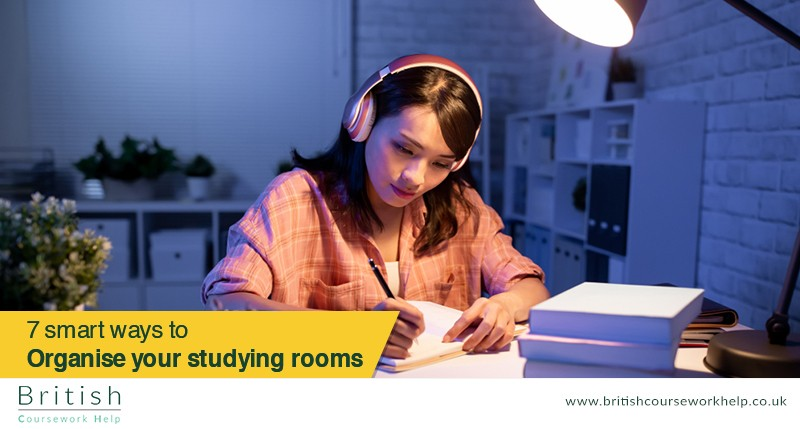 7 Smart Ways to Organised Your Studying Room