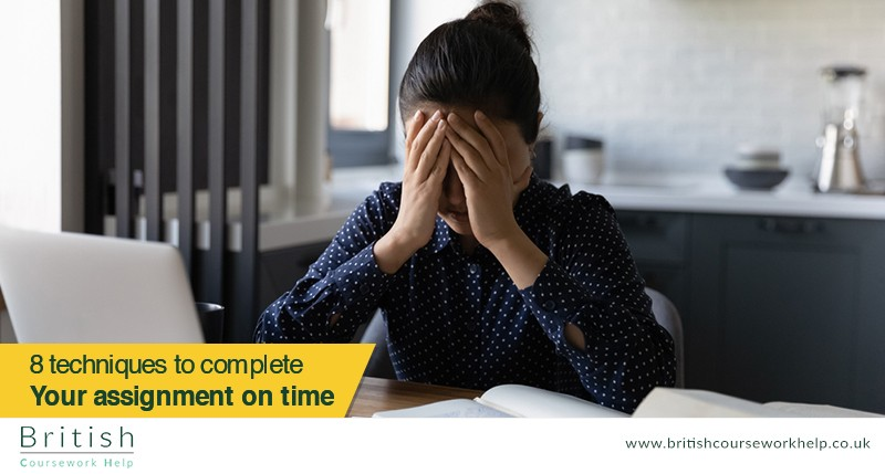 8 Smart Techniques to Complete Your Assignments on Time